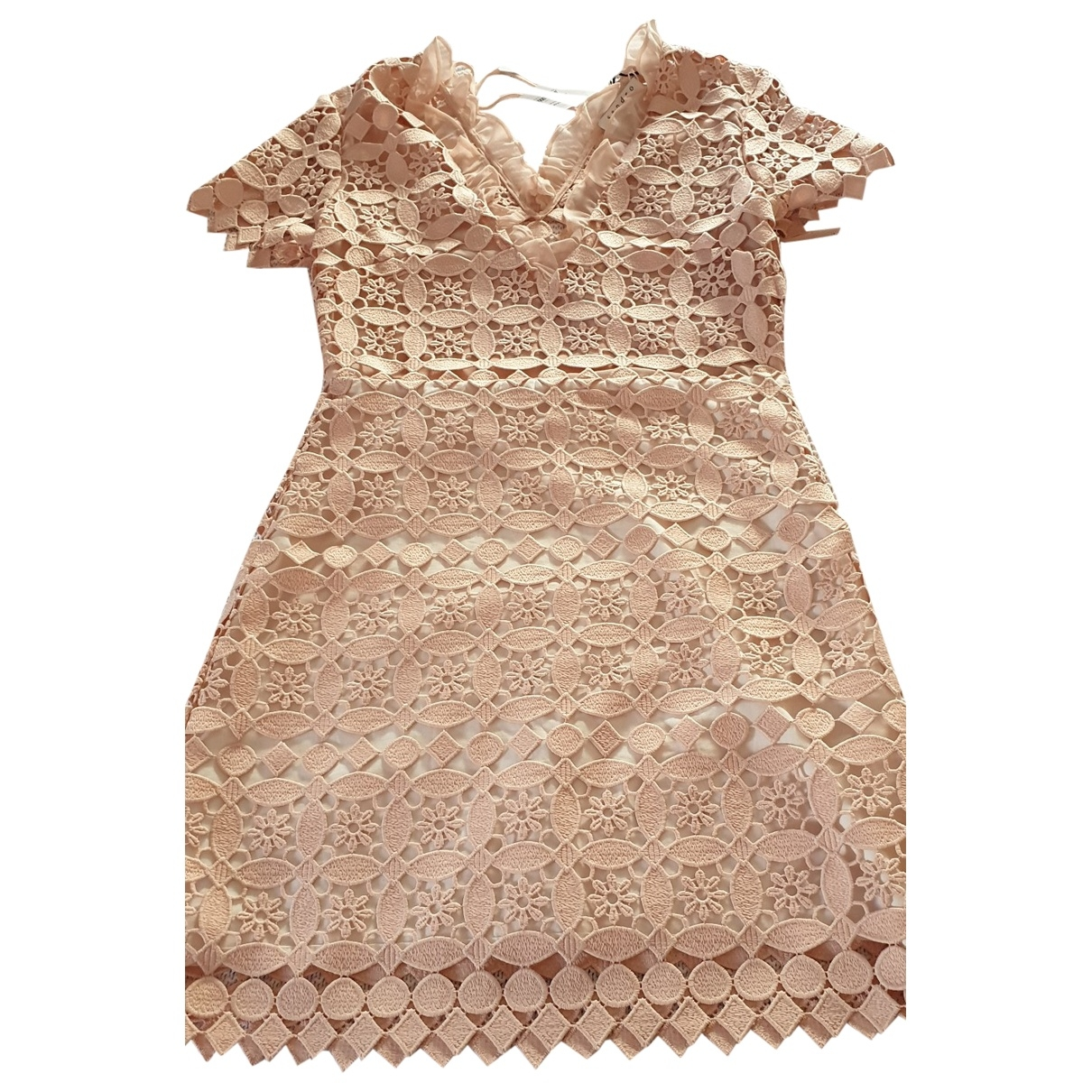 Sandro \N Pink Lace dress for Women 34 FR