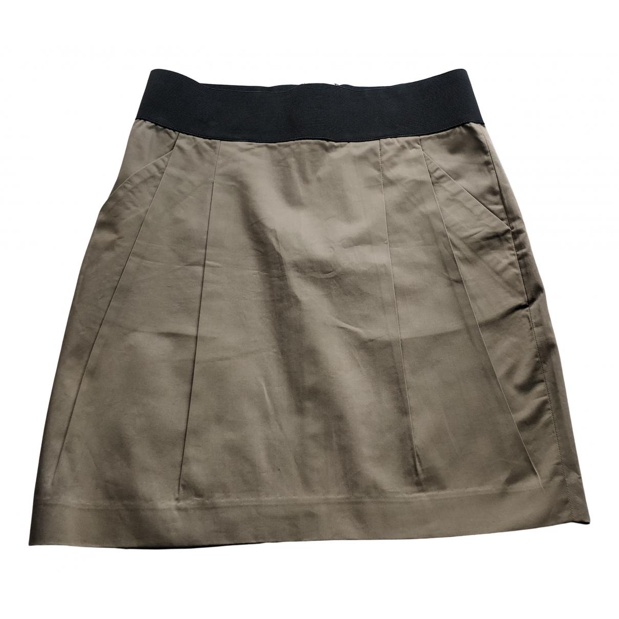 Emporio Armani N Brown Cotton skirt for Women 2 0-5