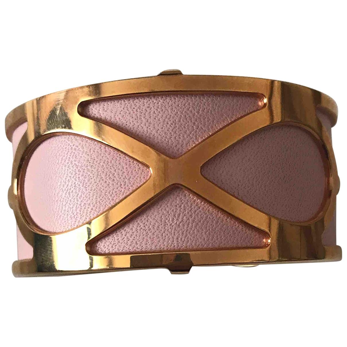 Les Georgettes \N Armband in  Gold Leder