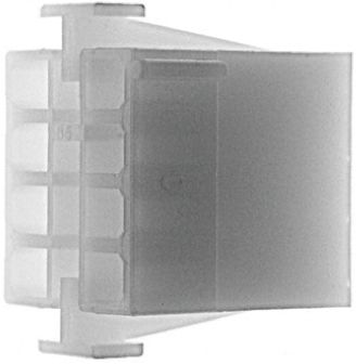 TE Connectivity , Universal MATE-N-LOK Male Connector Housing, 6.35mm Pitch, 9 Way, 3 Row