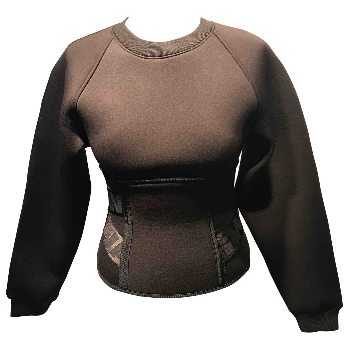 Alexander Wang Pour H&m \N Top in  Braun Polyester