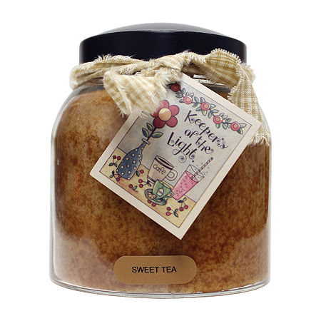 A Cheerful Giver 34oz Papa Sweet Tea Jar Candle, One Size , Brown