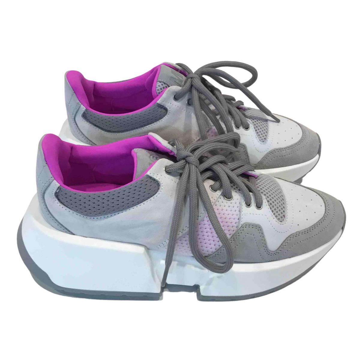 Mm6 \N Sneakers in  Lila Kunststoff