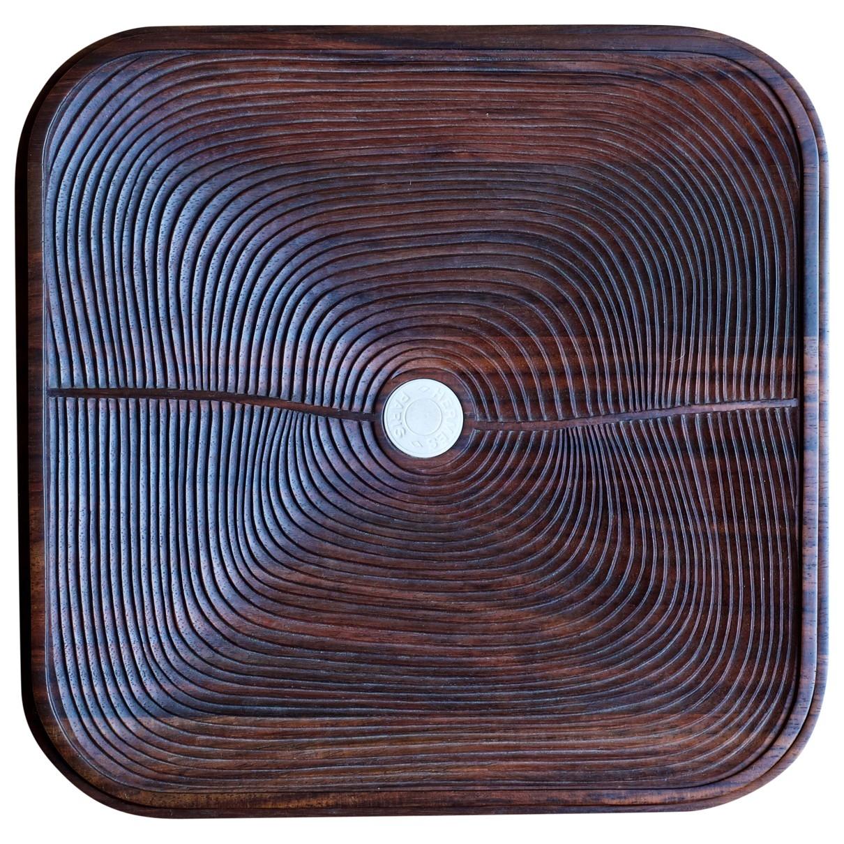 Hermes \N Accessoires und Dekoration in  Braun Holz