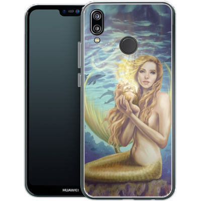 Huawei P20 Lite Silikon Handyhuelle - Selina Fenech - Holding Magic von TATE and CO