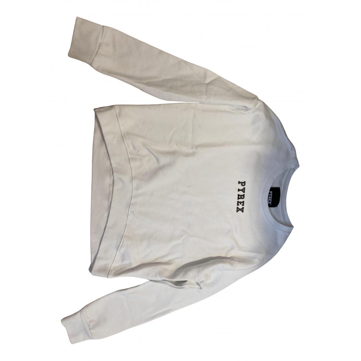 Pyrex - Top   pour femme en coton - blanc
