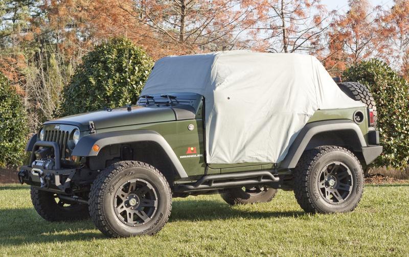 Rugged Ridge 13317.1 Weather-Lite Cab Cover; 07-19 Jeep Wrangler JK/JL, 2 Door Jeep Wrangler 2007-2016