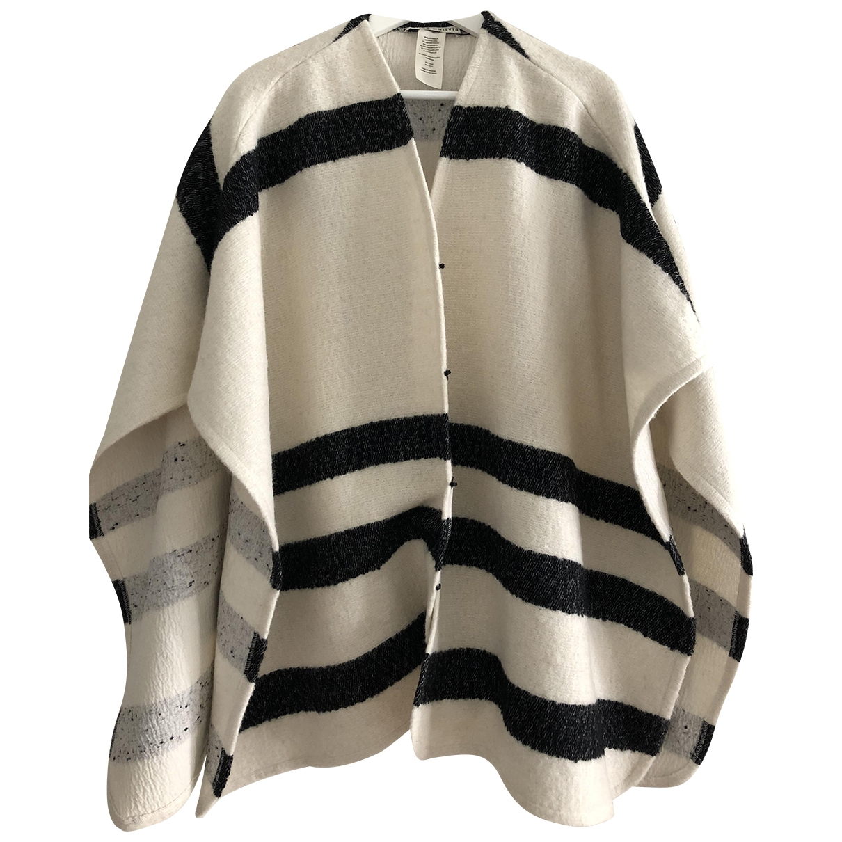 Alice & Olivia - Manteau   pour femme en laine - blanc