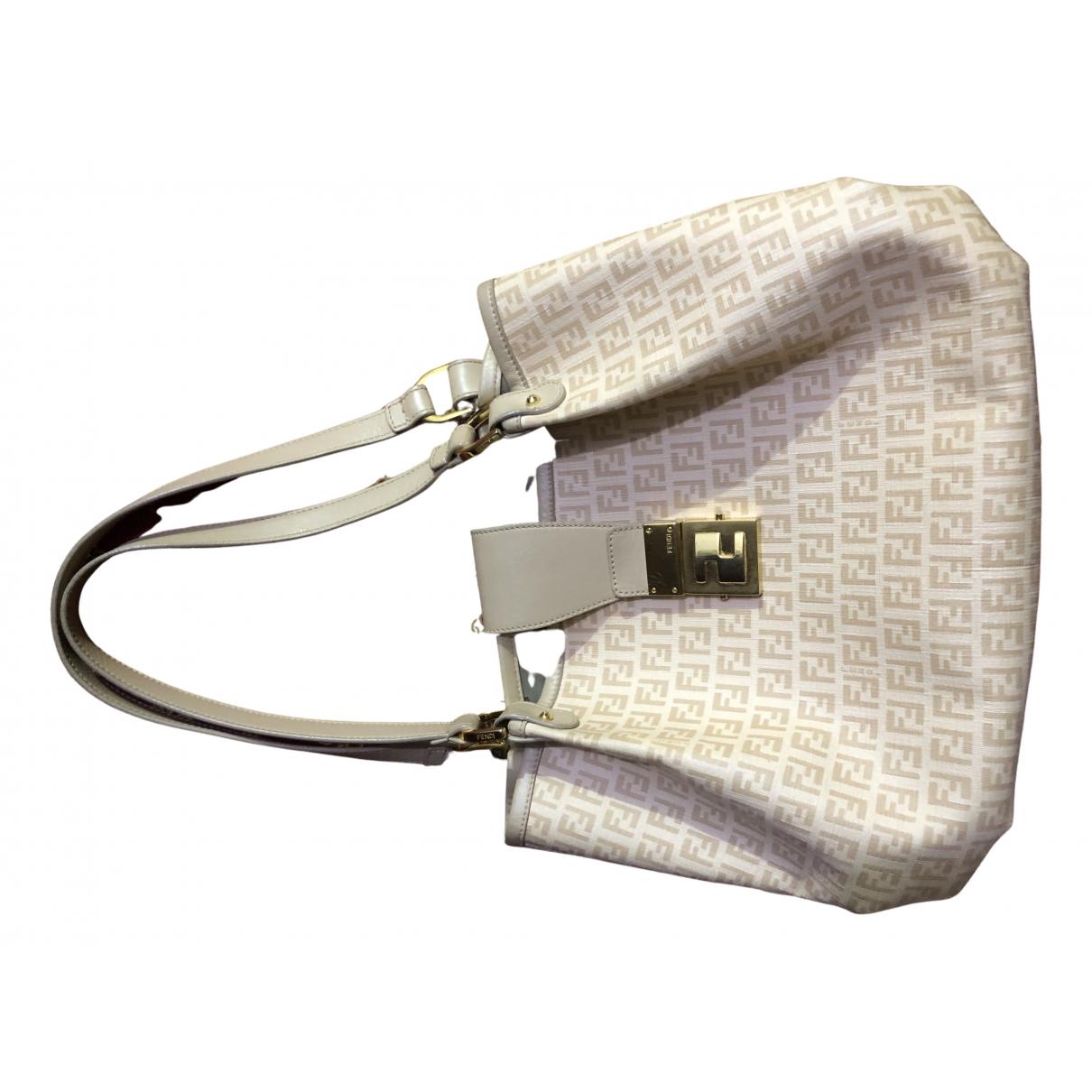 Fendi FF Pink Cloth Clutch bag for Women N