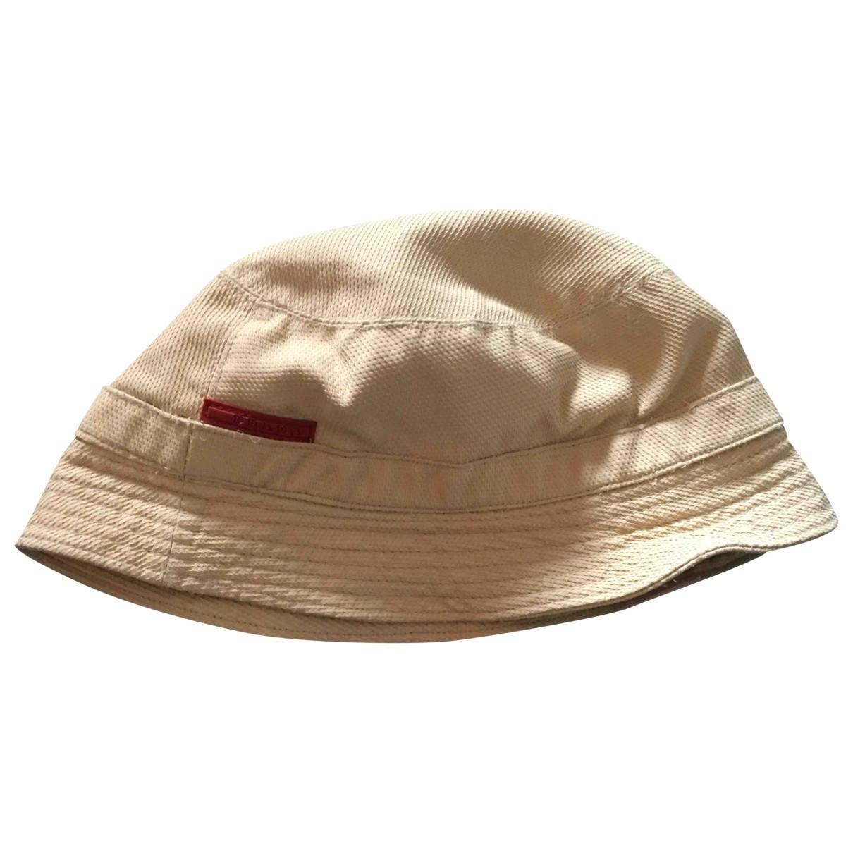 Prada - Chapeau & Bonnets   pour homme - beige