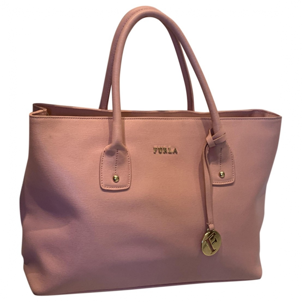 Furla \N Pink Leather handbag for Women \N