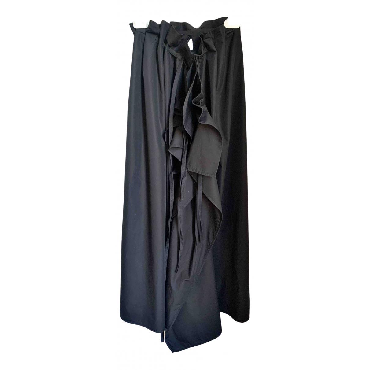 Lemaire - Jupe   pour femme en coton - noir