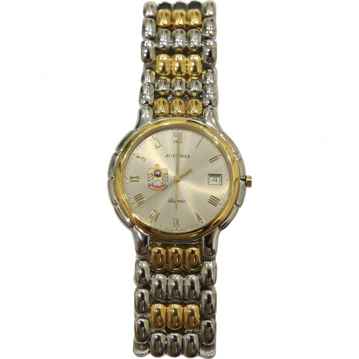 Non Signe / Unsigned \N Uhr in  Silber Gold und Stahl