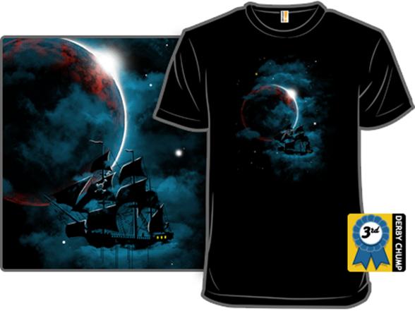 Pirate (space)ship T Shirt