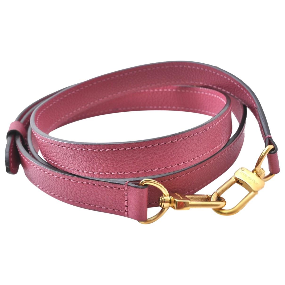 Louis Vuitton N Pink Leather handbag for Women N