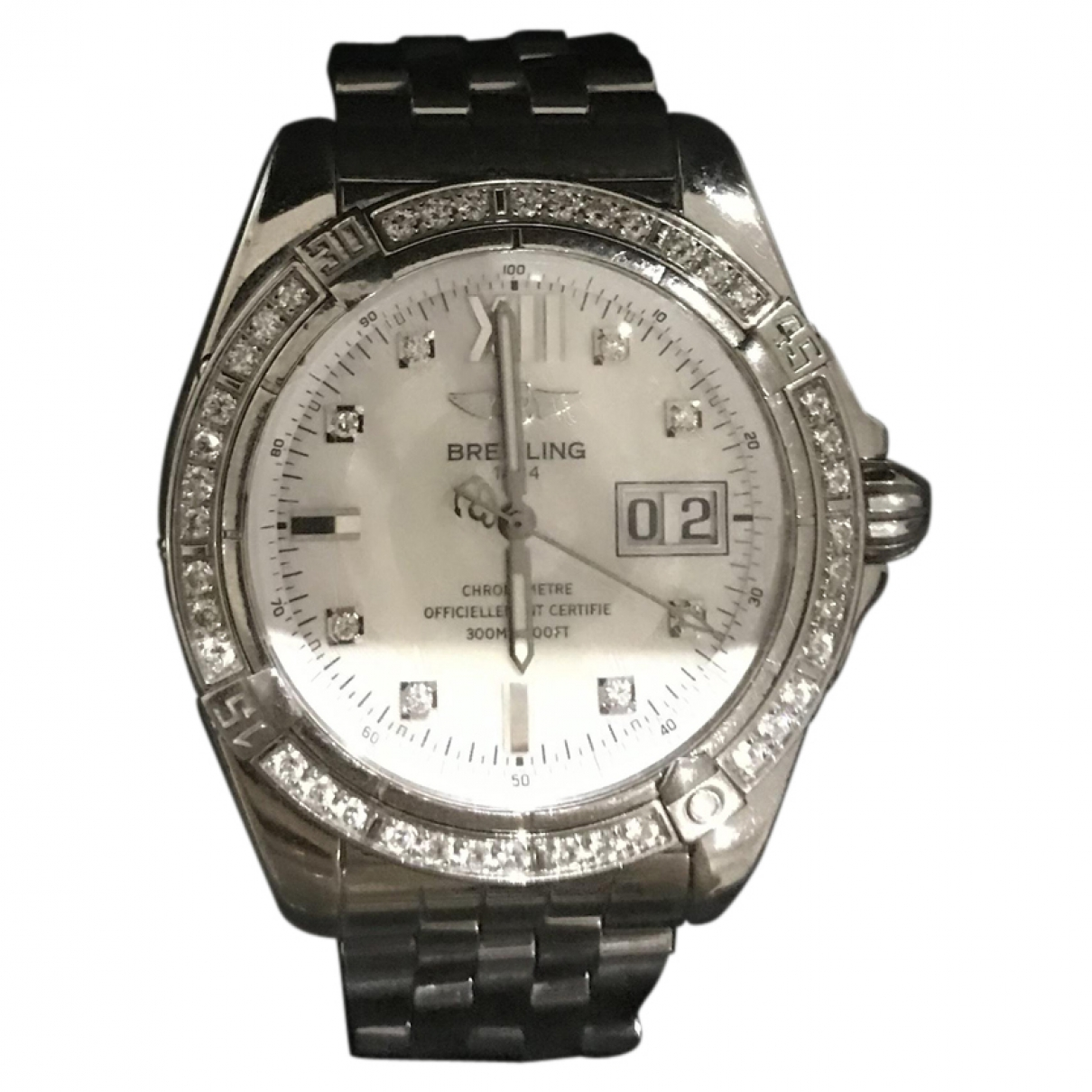 Breitling \N Steel watch for Women \N