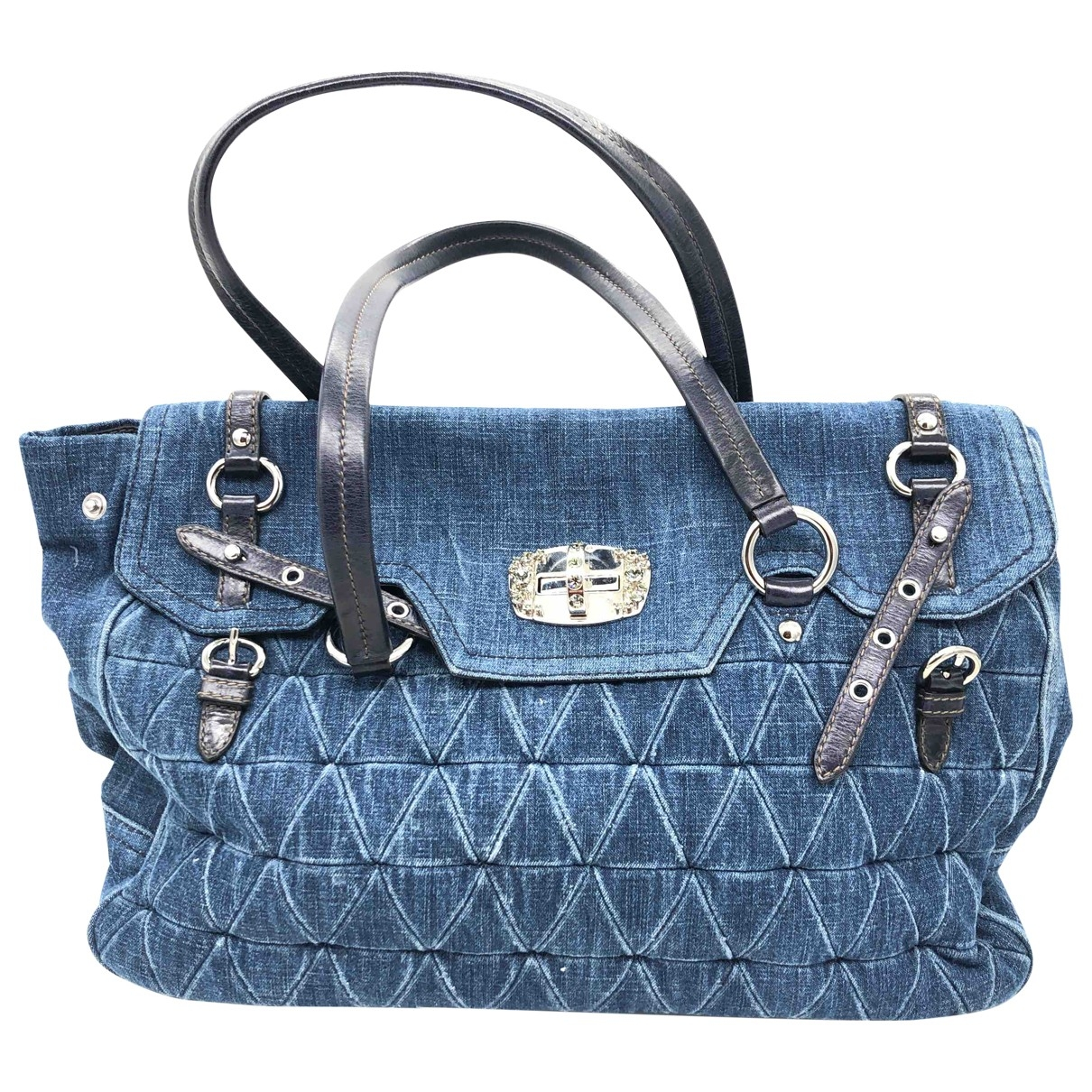 Miu Miu \N Blue Cloth handbag for Women \N