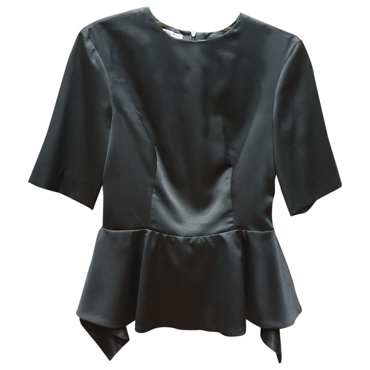 Miu Miu \N Black  top for Women 36 IT