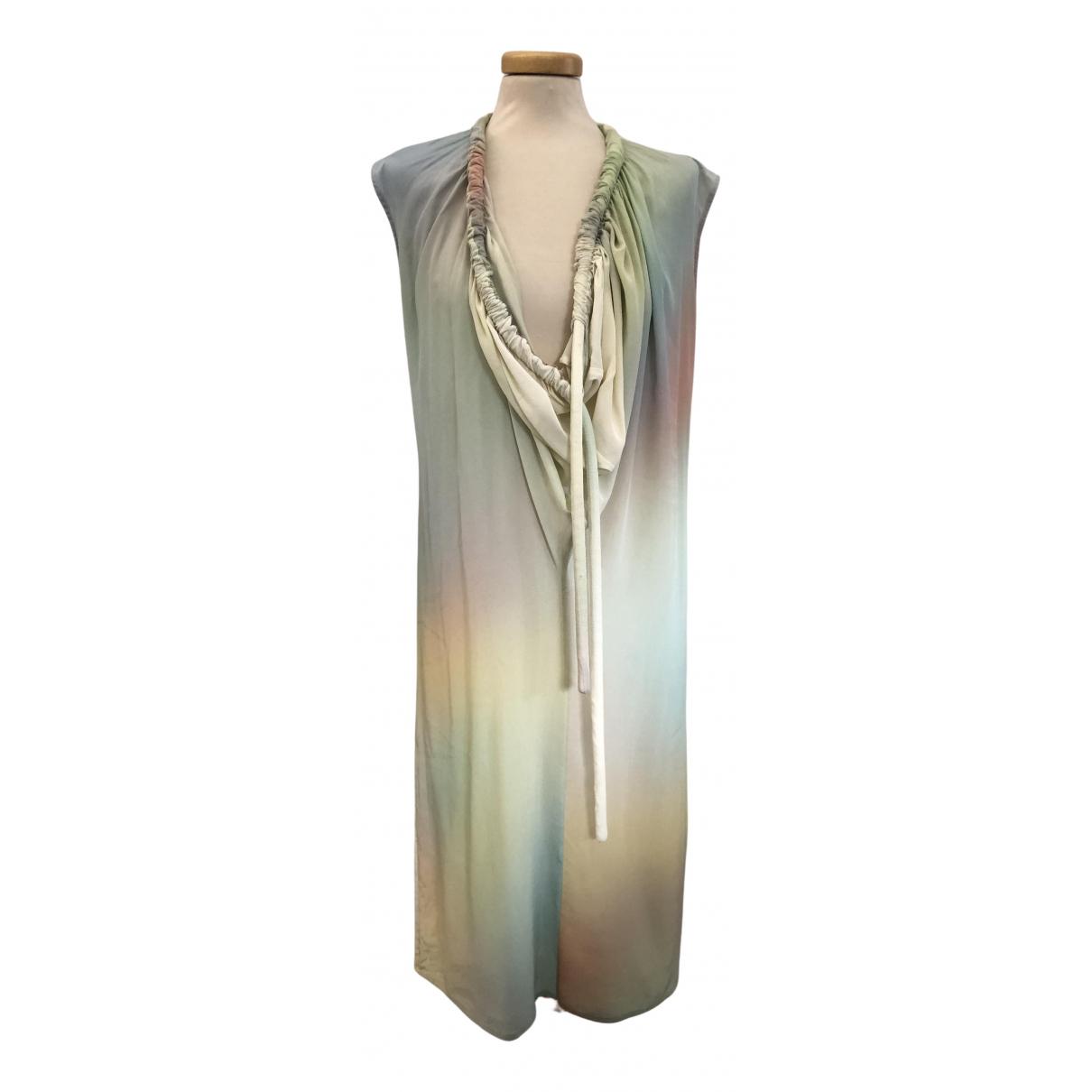 Maison Martin Margiela N Multicolour Silk dress for Women 44 IT