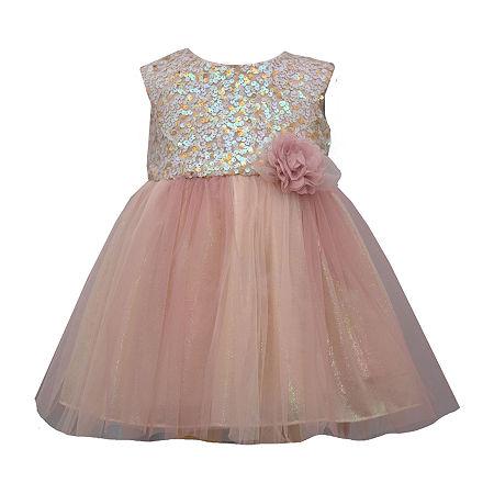 Bonnie Jean Baby Girls Sleeveless Tutu Dress, 24 Months , Pink