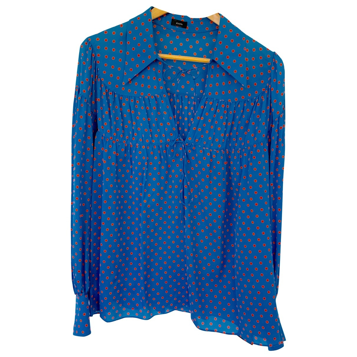 Joseph \N Blue Silk  top for Women 42 FR