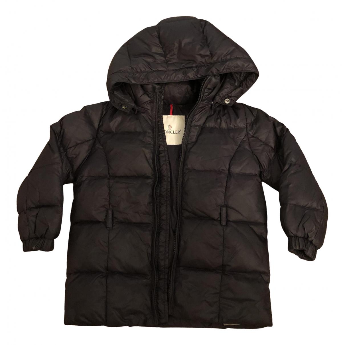 Moncler - Blousons.Manteaux Hood pour enfant - noir