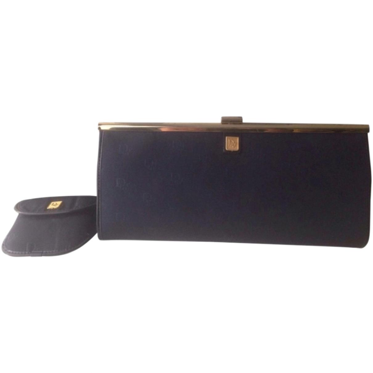 Dior \N Blue Cloth Clutch bag for Women \N