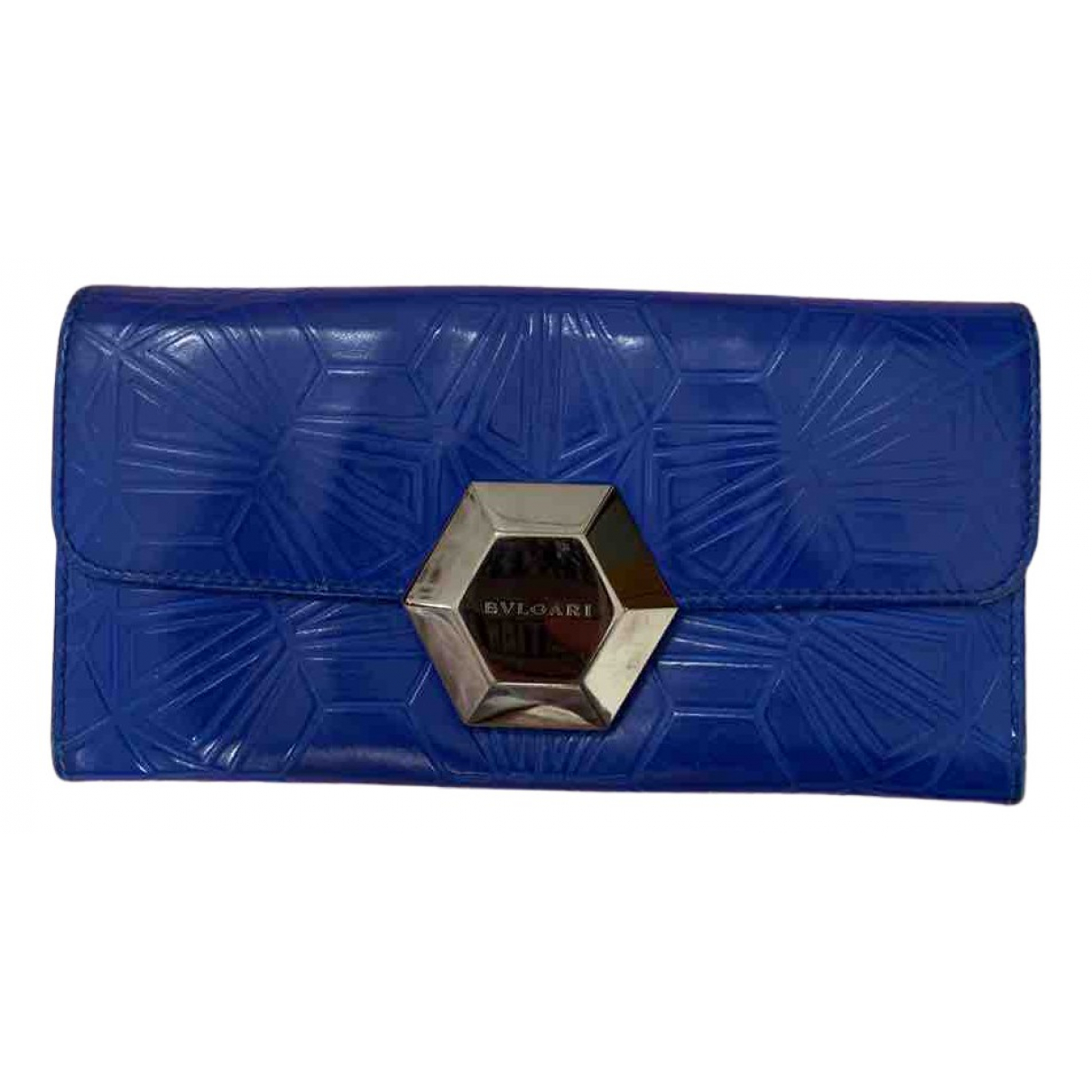 Bvlgari N Blue Leather wallet for Women N