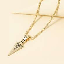 Men Geometric Charm Necklace