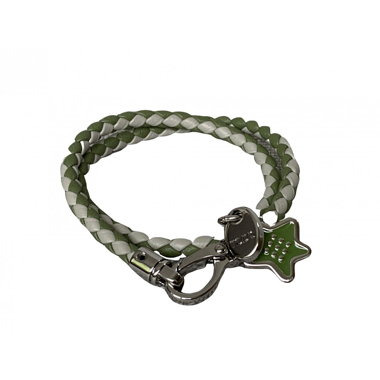 Tods - Bracelet   pour femme en cuir - vert