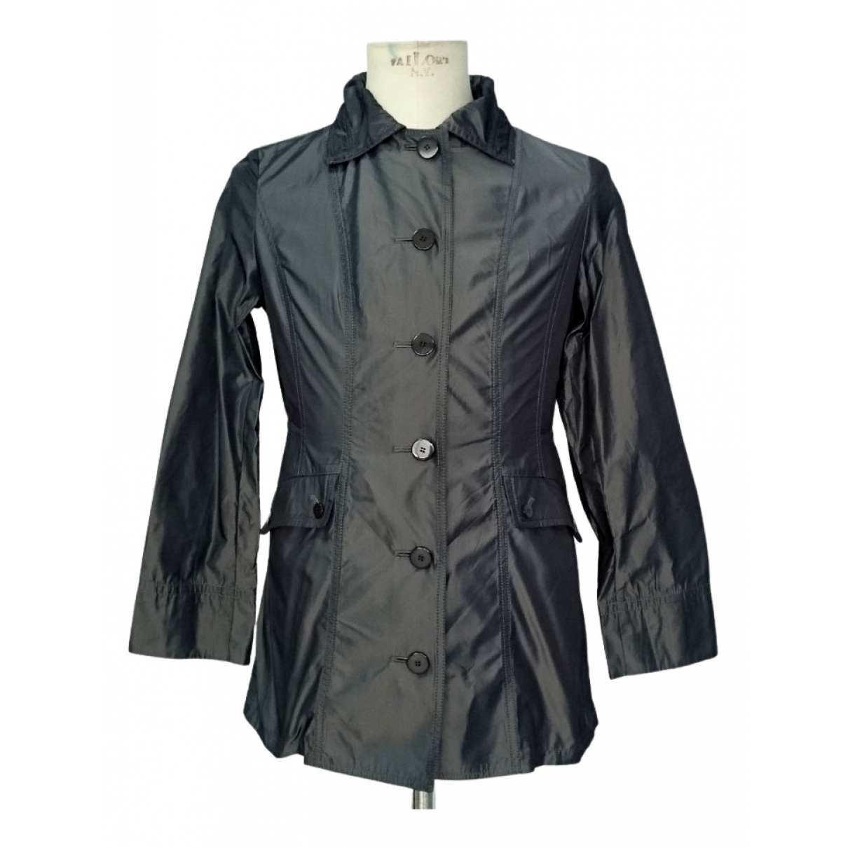 Krizia - Veste   pour femme en coton - gris