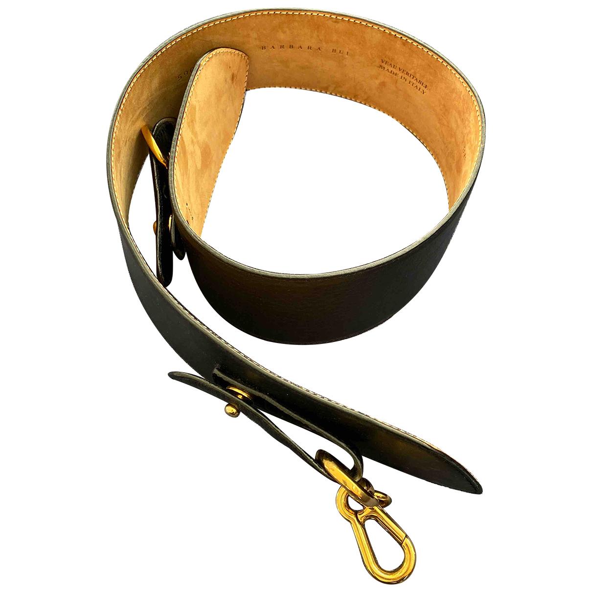 Barbara Bui N Black Leather belt for Women M International