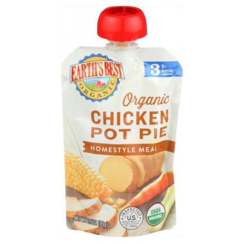 Organic Chicken Pot Pie 3.5 Oz by Earth's Best