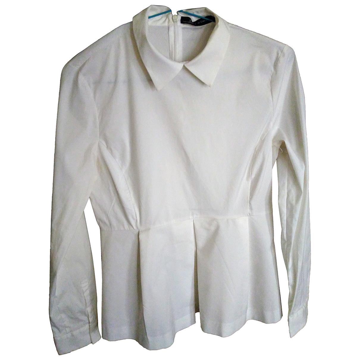 Zara N White Cotton  top for Women S International