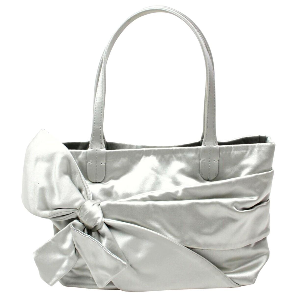 Valentino Garavani \N Handtasche in  Silber Polyester