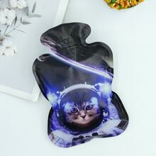 Waermflasche mit Katze Muster