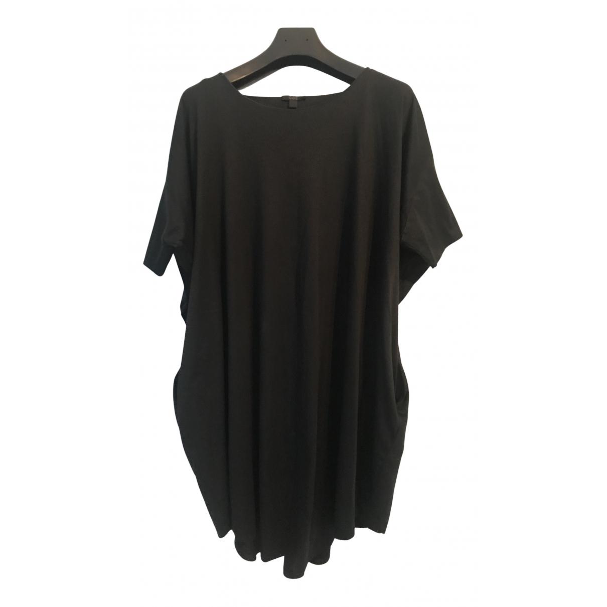 Cos - Robe   pour femme en coton - noir
