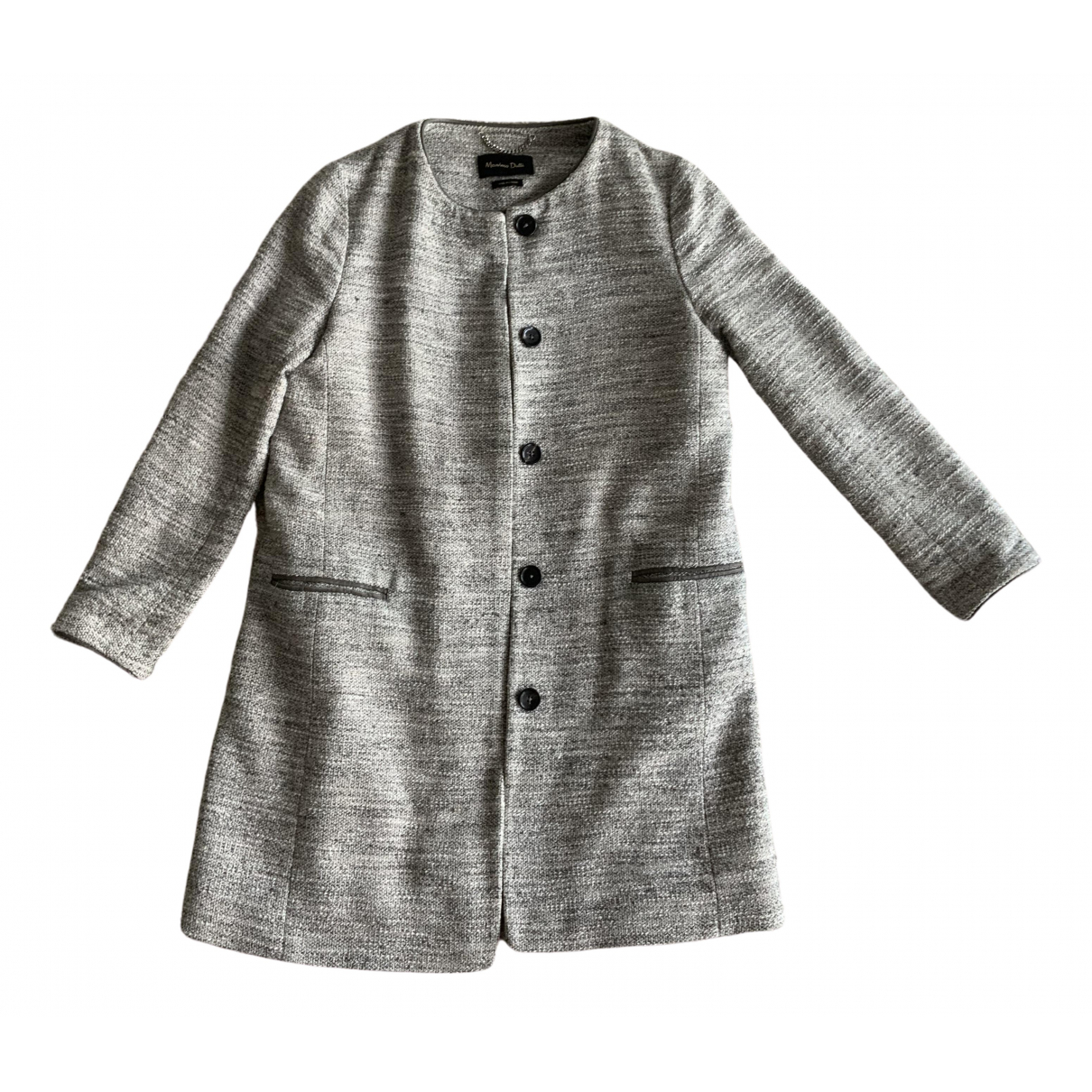 Massimo Dutti \N Cotton coat for Women 38 FR