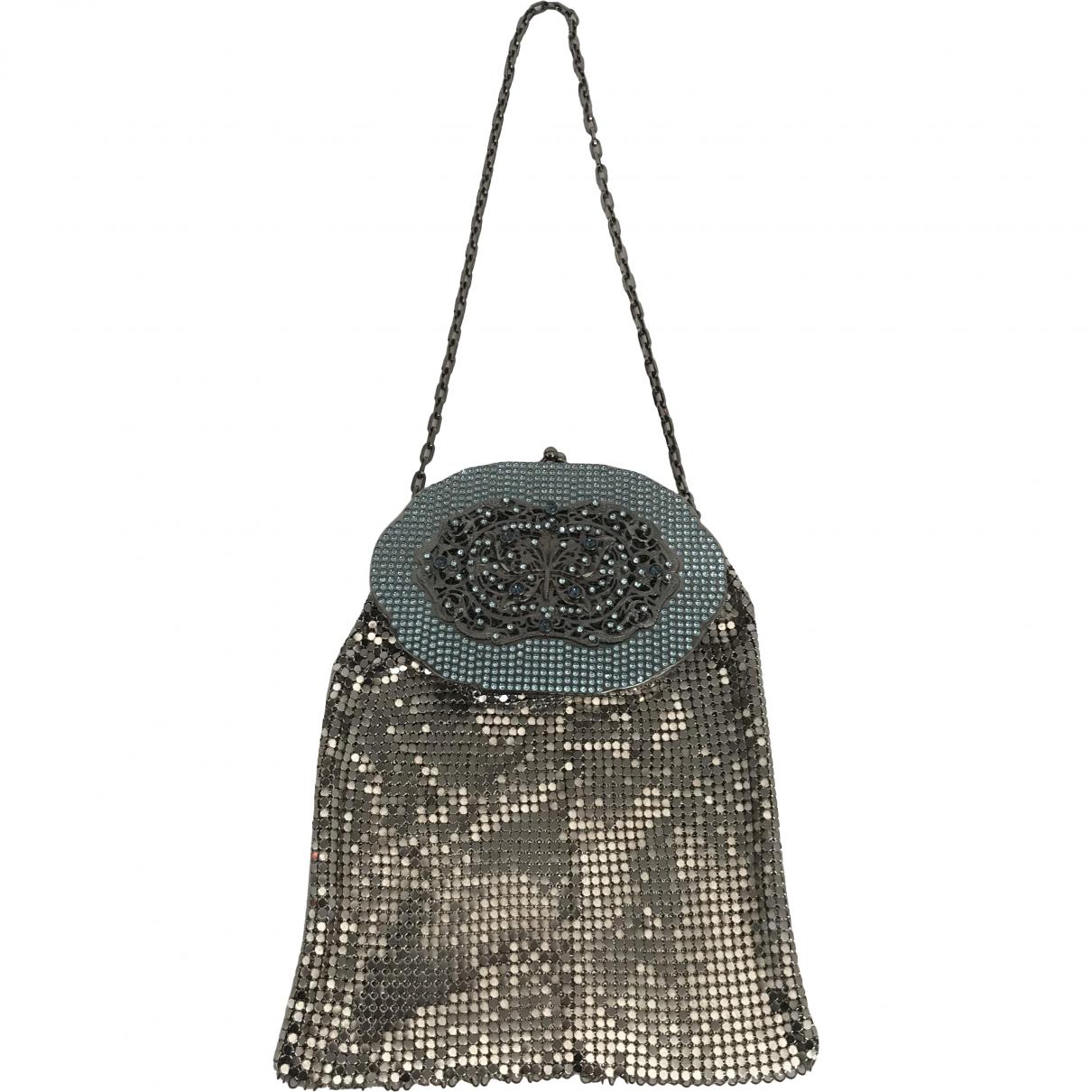 Valentino Garavani \N Silver Metal handbag for Women \N