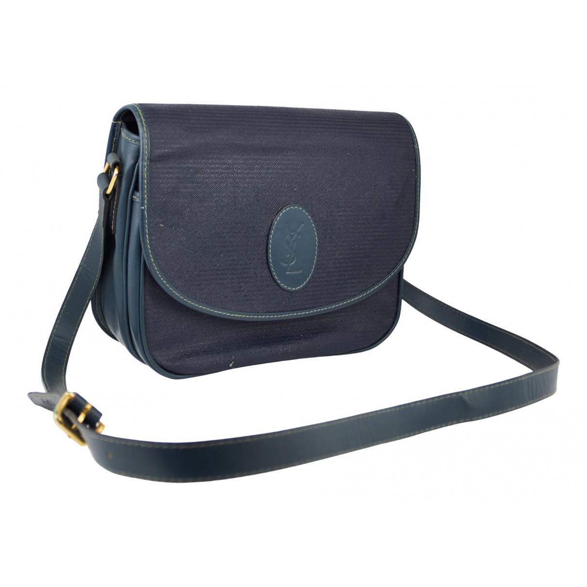 Yves Saint Laurent N Blue Cloth handbag for Women N