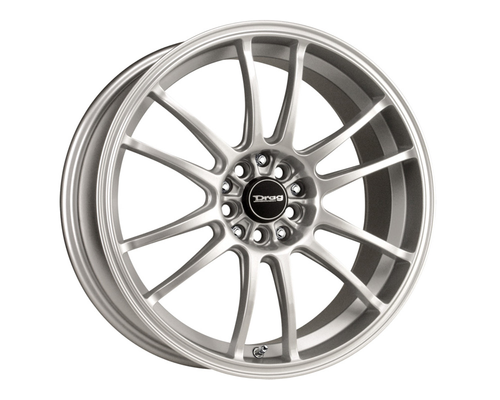 Drag DR-38 Silver Full Painted 17x7 5x100/114.3 40