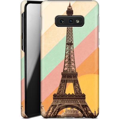 Samsung Galaxy S10e Smartphone Huelle - Eiffel Tower Rainbow von Florent Bodart