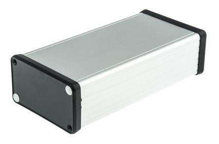 Hammond CARDMASTER, Clear Aluminium Enclosure, 160 x 78 x 43mm