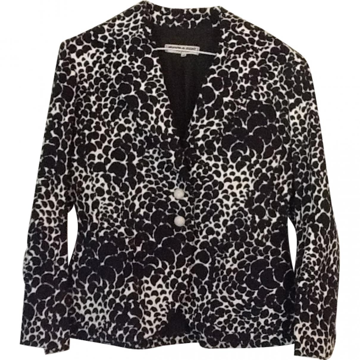 Yves Saint Laurent \N Black Cotton jacket for Women 40 FR