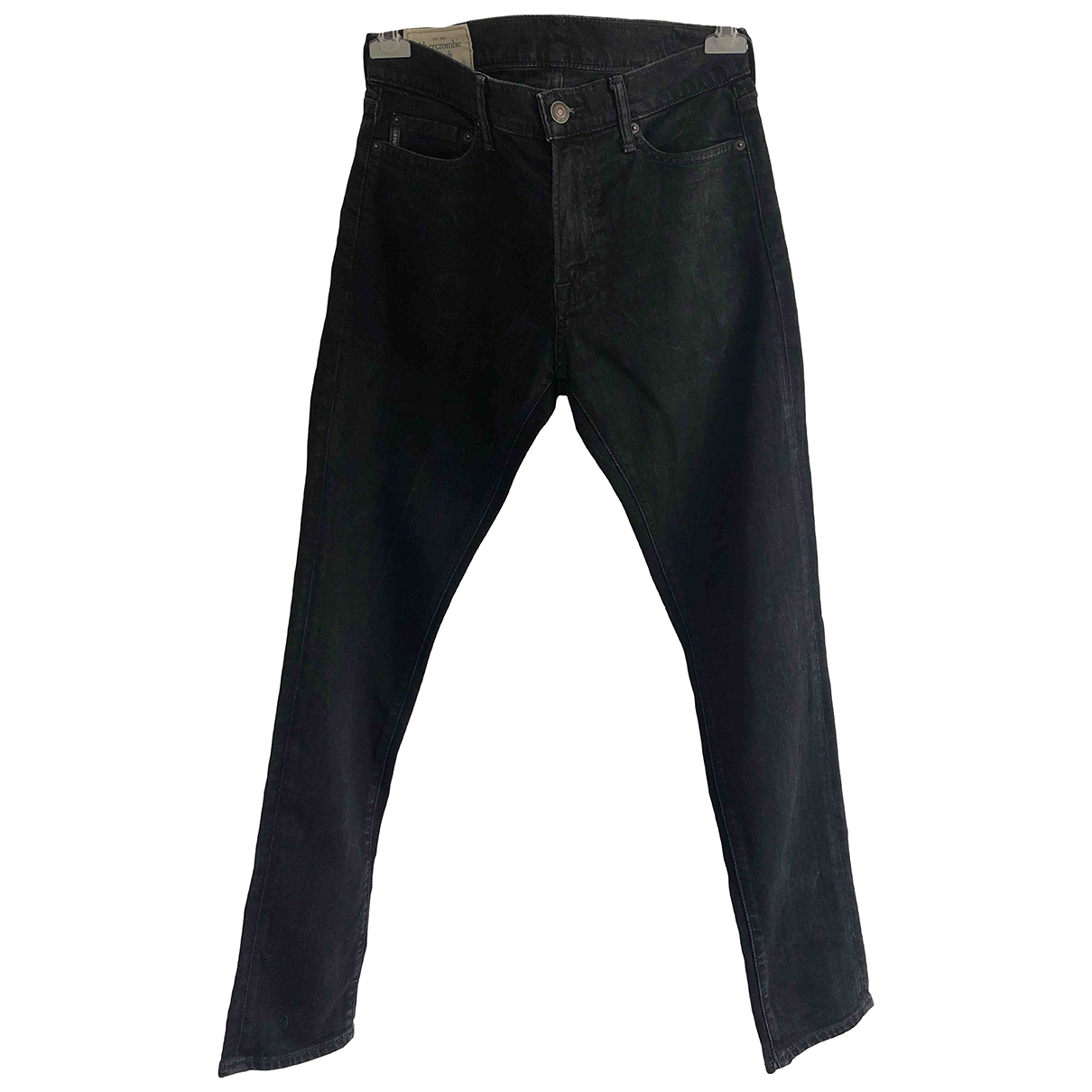 Abercrombie & Fitch \N Black Cotton - elasthane Jeans for Women 32 US
