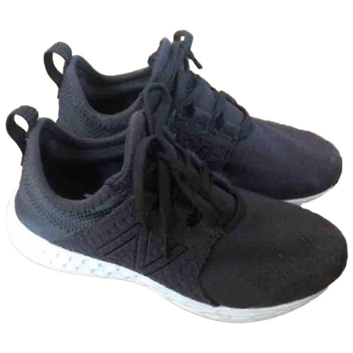 New Balance \N Black Cloth Trainers for Women 37.5 EU