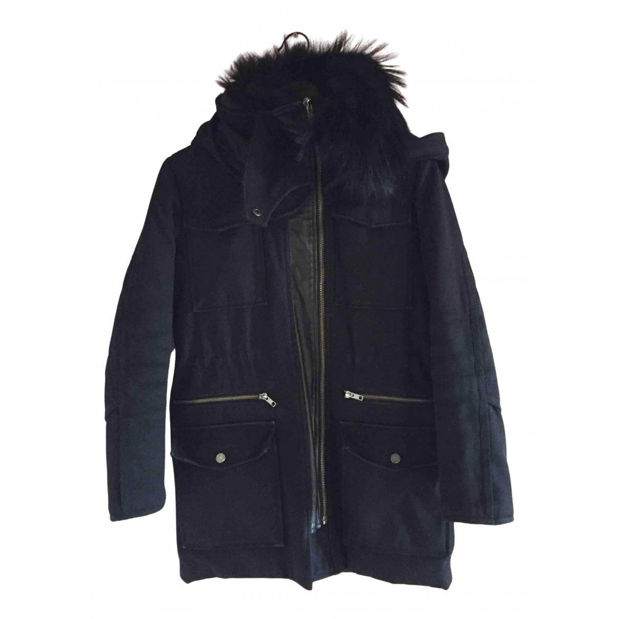 The Kooples N Black coat for Women 36 FR