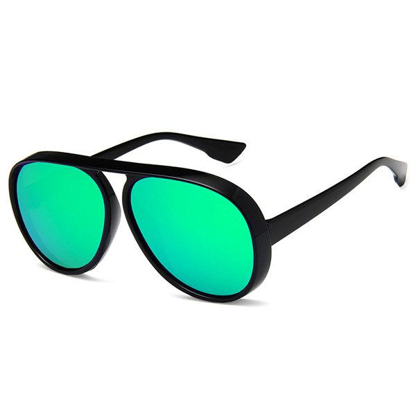 Sunglasses For Big Heads Face Thin Round Sunglasses One-Piece Sunglasses For Men Women