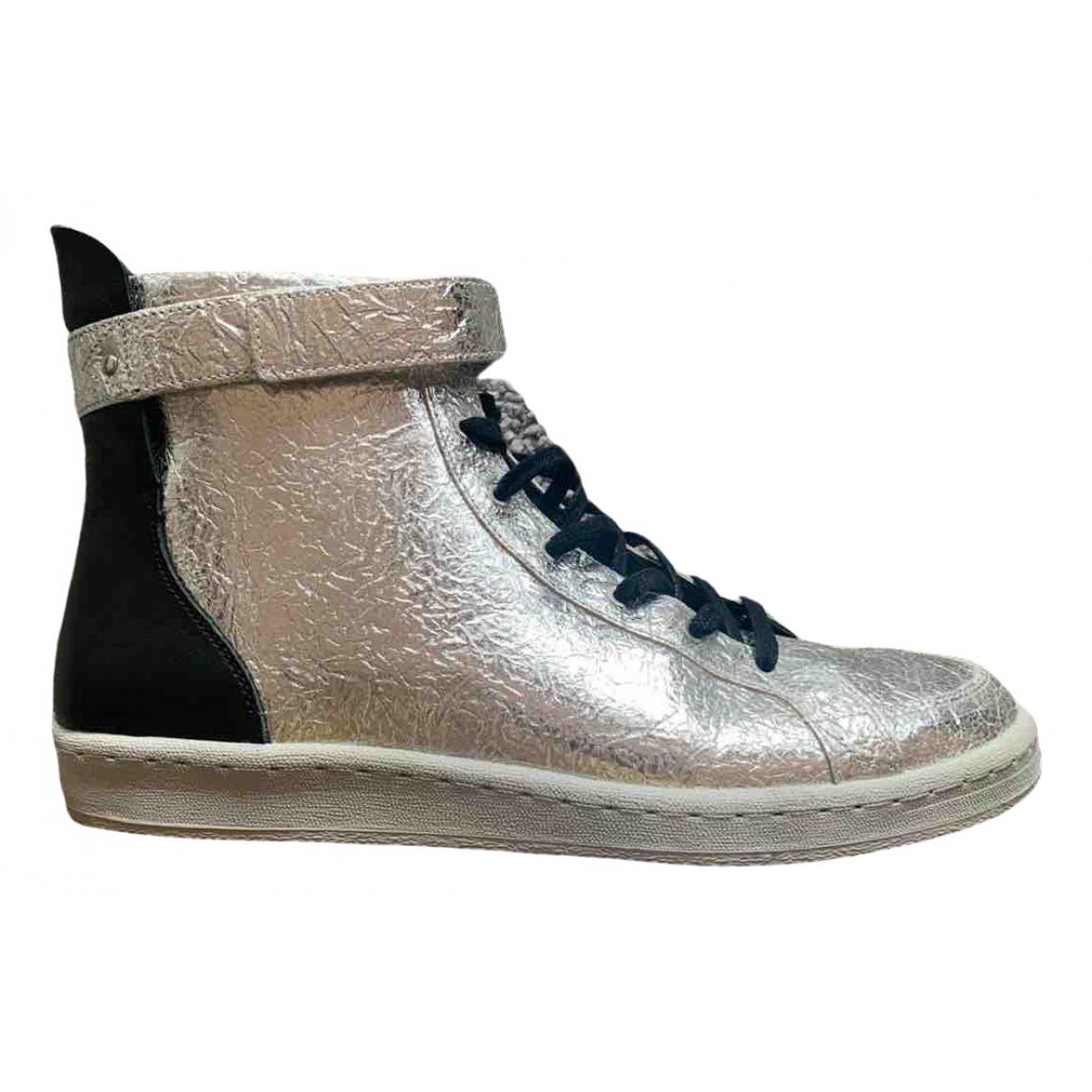Adidas \N Sneakers in  Silber Leder
