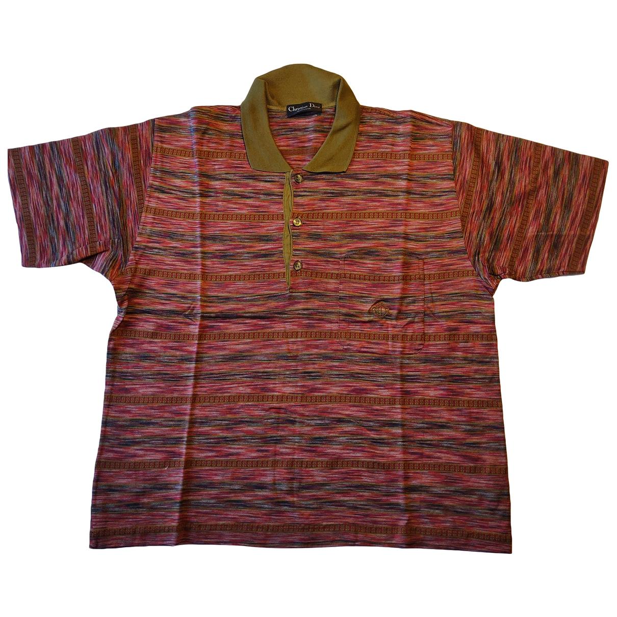 Dior - Polos   pour homme en coton - multicolore